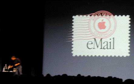 Apple wird eMail-Provider